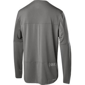Fox Defend Delta LS Jersey Men grey vintage
